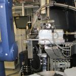 Messaufbau für Proteinkristallografie.